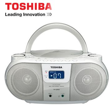 TOSHIBA MP3手提CD音響(白色) TX-CRM10TW(S)