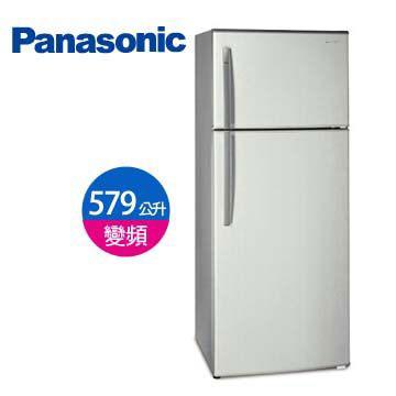 【節能補助】Panasonic 579公升1級 雙門變頻冰箱