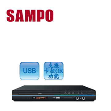 聲寶DVD影音光碟機 DV-TU220B