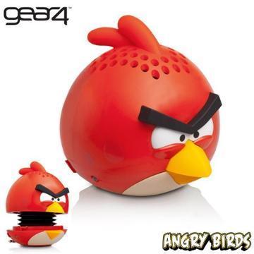 [福利品] Gear4 Angry Birds 憤怒鳥迷你重低音揚聲器PG778G(紅)