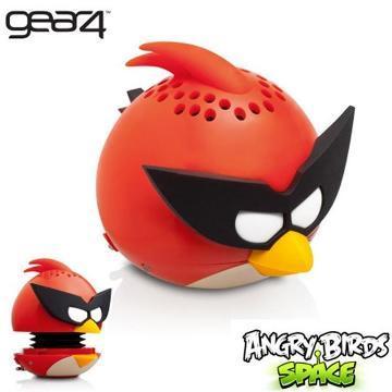 [福利品] Gear4 AngryBirds 太空鳥迷你重低音揚聲器PG782G(紅)