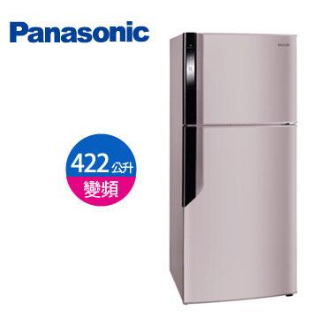 【節能補助】Panasonic 422公升ECONAVI雙門變頻冰箱