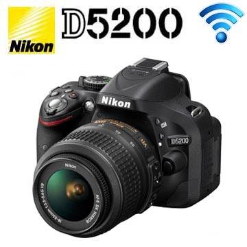 NIKON D5200 18-55mmVR KIT組 公司貨 (黑)(KIT(18-55VR)BK黑)