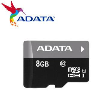 威剛 Micro SD 8G記憶卡-UI C10