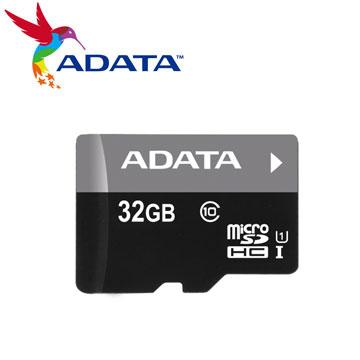 威剛 Micro SD 32G記憶卡-UI C10(AUSDH32GUICL10-RA1)