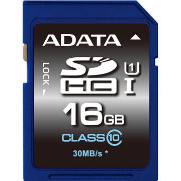 威剛SDHC U1 16G C10記憶卡