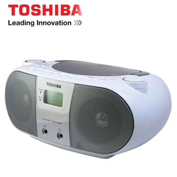 [福利品] TOSHIBA USB手提CD音響  TX-CRU10TW(S)