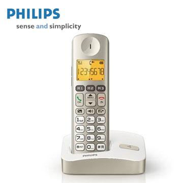 PHILIPS大螢幕數位無線電話 XL3001C