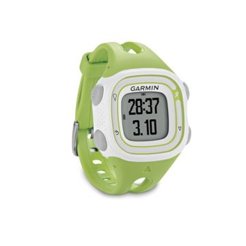 Garmin GPS運動跑步腕錶-粉綠
