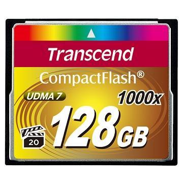 創見1000X CF 128G超高速記憶卡
