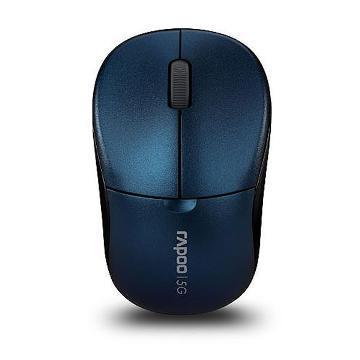 雷柏 1090PBU 無線光學滑鼠-藍(1090PBU)