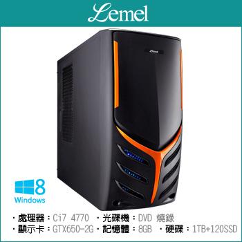 聯強(Lemel)全新四代i7 2G獨顯主機