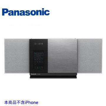 [福利品] Panasonic 藍牙/USB組合音響  SC-HC38-S(銀)