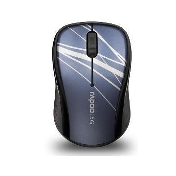雷柏 3100PBU 無線光學滑鼠-藍(3100PBU)