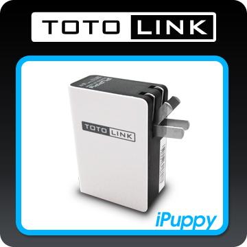 TOTO-LINK 可攜式無線分享器-白