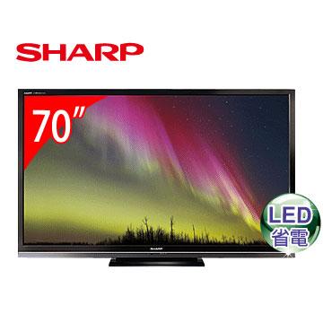 [福利品] SHARP 70型LED連網電視