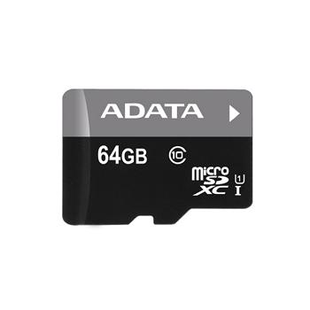 威剛 Micro SD 64G記憶卡-UI C10含轉卡