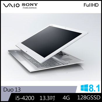 【福利品】SONY 四代i5 平板筆電 Duo13
