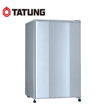 [展示福利品]大同100公升1級單門小冰箱