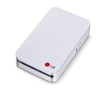 LG 2代口袋型隨身印相機-銀(LG PD233)