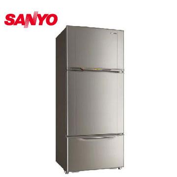 三洋 528公升變頻三門冰箱