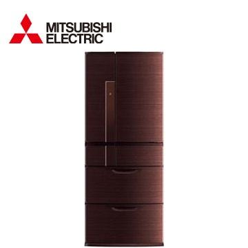 MITSUBISHI 635公升瞬冷凍1級節能六門冰箱(閃耀棕)