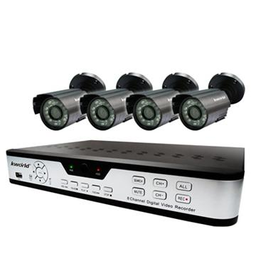 廣寰 眼鏡蛇監控系統組 豪華套餐版