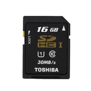 TOSHIBA SDHC 16G U1記憶卡