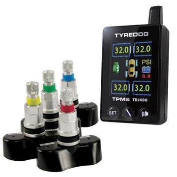 TYREDOG 無線胎壓監測器-胎內