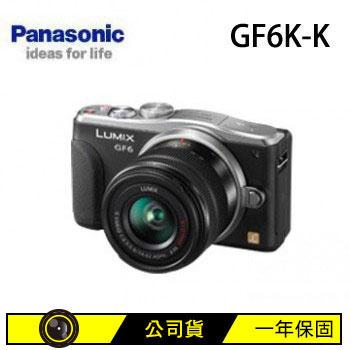 [福利品] Panasonic GF6K可交換式鏡頭相機-黑