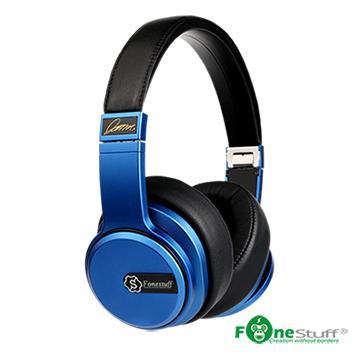 Fonestuff Hi-Fi劇院耳罩式耳機(搖滾藍)
