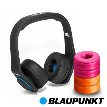 藍點 Style高音質耳罩式耳機-黑