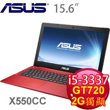華碩 三代i5 2G獨顯筆電(紅)
