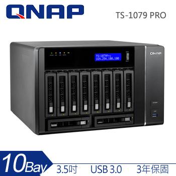QNAP 10Bay 網路儲存伺服器