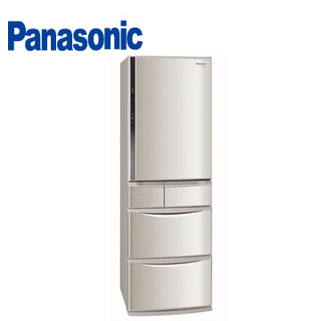 Panasonic 430公升ECONAVI五門節能變頻冰箱(NR-E437TX-N1(香檳金))