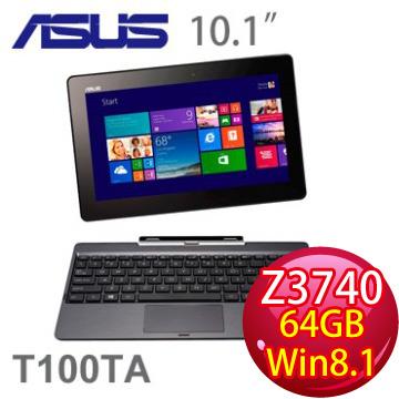 華碩 四核輕薄觸控平板筆電 T100