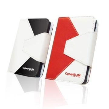 CyberSLIM 2.5吋USB3.0超高速外接盒(紅)