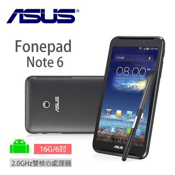 ASUS Fonepad Note 平板手機 16G-3G/黑
