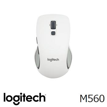 羅技 無線滑鼠 M560-白(910-003917)