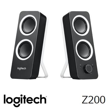 羅技 音箱 Z200-黑