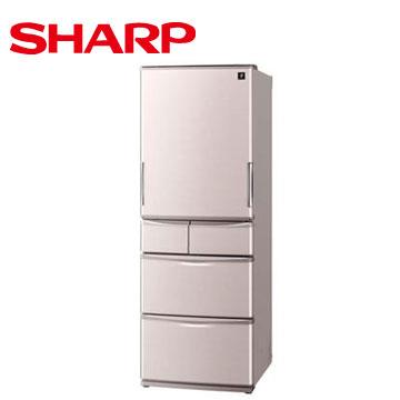 SHARP 465公升1級除菌離子五門左右開冰箱