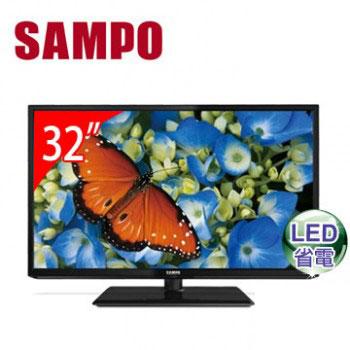 [福利品] 聲寶32型LED顯示器 EM-32MA15D(EM-32MA15D(視135081))