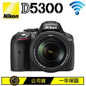 NIKON D5300 18-140mm KIT數位單眼相機