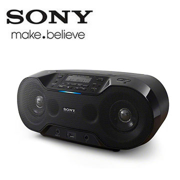 SONY NFC/藍芽手提CD音響 ZS-RS70BT