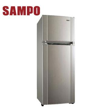 [展示福利品]聲寶 455公升1級變頻雙門冰箱