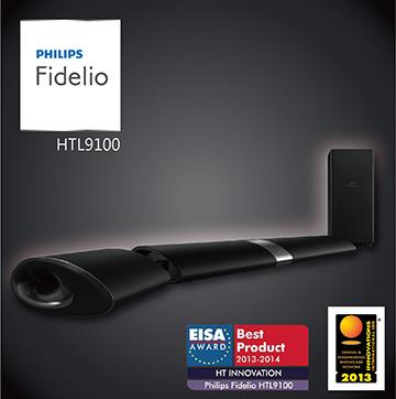 PHILIPS創新無線環迴家庭影院Sound Bar  HTL9100
