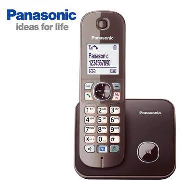 Panasonic中文顯示數位無線電話KX-TG6811TWM
