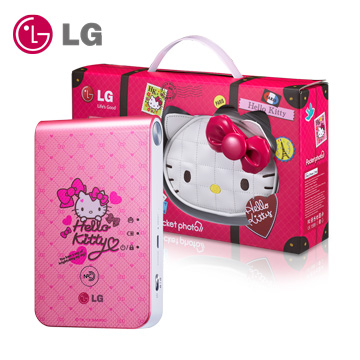 LG Pocket photo 3.0口袋相印機第三代(Hello Kitty 限量版)