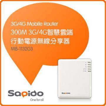 SAPIDO MB-1132G3 3G/4G無線分享器