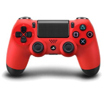 PS4- 震動手把(紅)